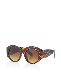 Plastic Thick Sunglasses - 1134071216040