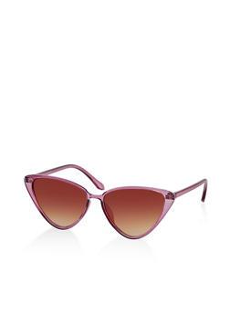 Plastic Cat Eye Sunglasses | 1134071216400 - 1134071216400