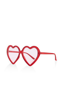 Heart Frame Sunglasses - 1134071222854