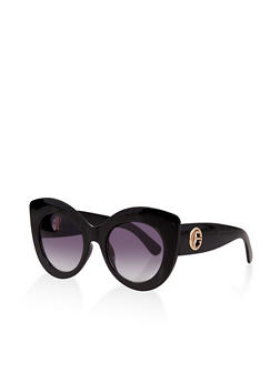 Thick Frame Cat Eye Sunglasses | 1134073213500 - 1134073213500