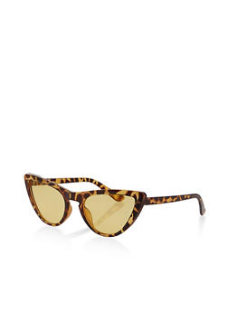 Colored Lens Cat Eye Sunglasses | 1134073214300 - 1134073214300