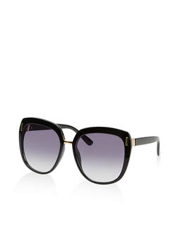 Metallic Detail Sunglasses - 1134073215800