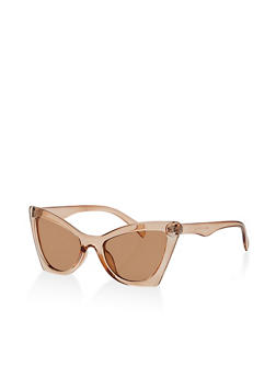 Square Cat Eye Sunglasses - 1134073219785