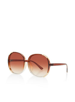 Metallic Corner Sunglasses - 1134073924782