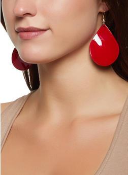 Plastic Tear Drop Earring Trio | 1135003202402 - 1135003202402