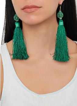 Tassel Drop Earrings - 1135018433083