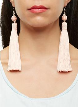 Large Tassel Earrings - 1135018438321