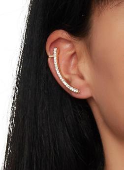 Rhinestone Ear Cuff - 1135057690670