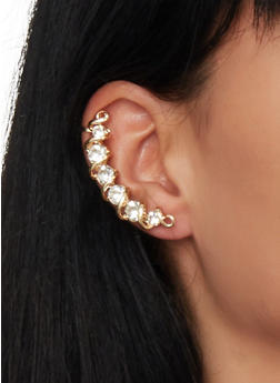 Rhinestone Ear Crawlers - 1135057691451