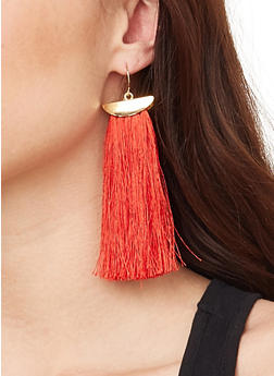 Tassel Drop Earrings - 1135062921937