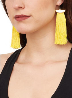 Tassel Drop Earrings - 1135062921937