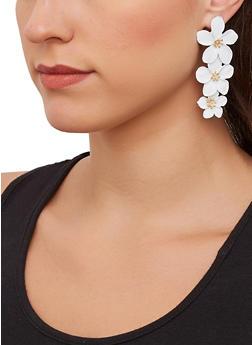 Flower Drop Earrings - 1135071210152