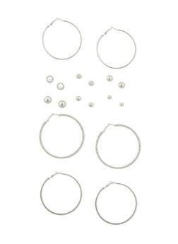 Set of 9 Assorted Earrings - 1135072696948