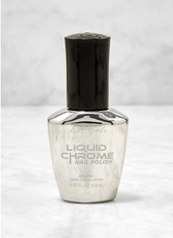 Grey Liquid Chrome Nail Polish - 1136070327273