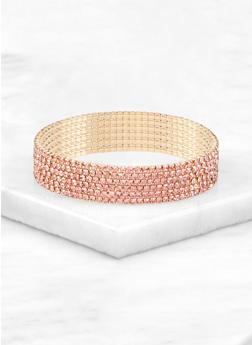 Rhinestone Stretch Bracelets   1138018438582 - 1138018438582