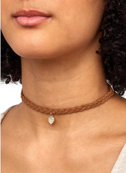 Trio Of Reversible Stud Earrings and Chokers - 1138057692416