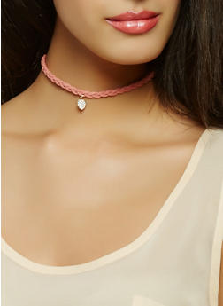 Choker Trio with Reversible Stud Earrings - 1138057696224