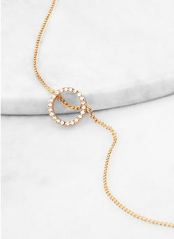 Circle Pendant Necklace - 1138062920366