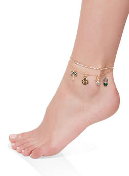 Tropical Anklet - 1138063094144
