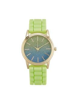 Ombre Glitter Face Watch - 1140007008884