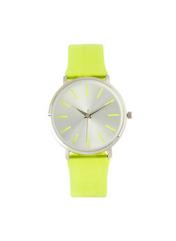 Jelly Strap Watch | Lime - 1140007008901