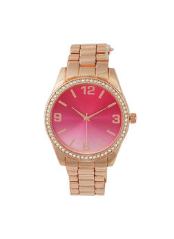 Ombre Face Metallic Watch - 1140048993225
