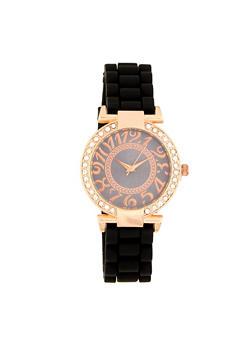 Rhinestone Bezel Watch | 1140071430682 - 1140071430682