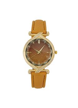 Glitter Two Hand Watch - 1140071430938