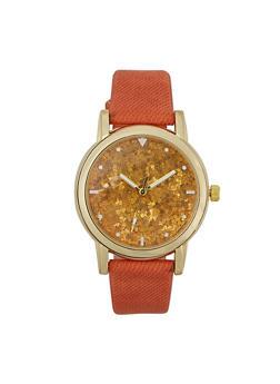 Glitter Face Watch - 1140071431393