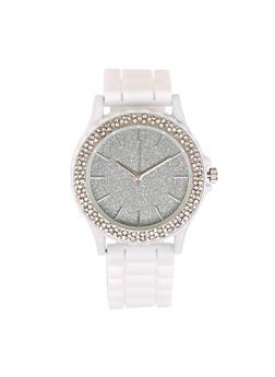 Glitter Dial Watch - 1140071432790