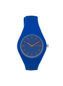 Neon Rubber Watch - 1140071432917
