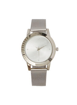 Metallic Mesh Watch | 1140071434011 - 1140071434011