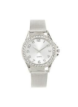 Metallic Mesh Watch - 1140072692671