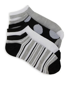 Set of 4 Ankle Socks - 1143041450019