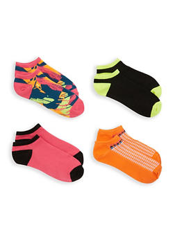 4 Pack of Ankle Socks - MULTI COLOR - 1143041450318