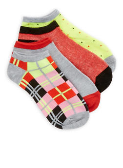 Set of 4 Ankle Socks - 1143041451718