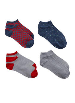 Assorted Ankle Socks - 1143041452918