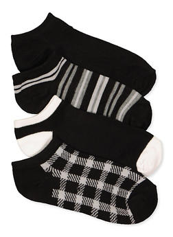 Assorted Ankle Socks 4 Pack - 1143041454519