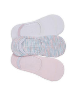 3 Pack No Show Socks - 1143068061035