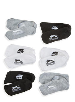 Pack of 6 No Show Socks - 1143068062507