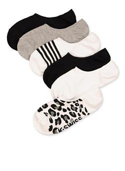 6 Pair Assorted Socks - 1143068063251