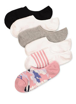 6 Pack Assorted Camo Socks - 1143068068506