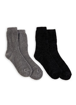 Set of 2 Chenille Socks - 1148068061131