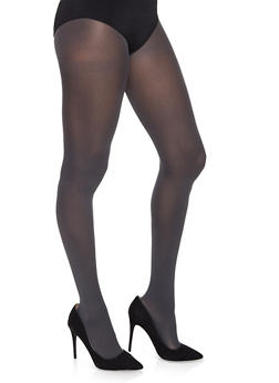 Opaque Footed Tights - 1150068064400