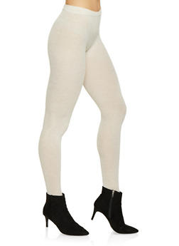 Footed Sweater Knit Tights - 1150068064451