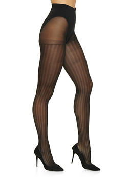 Set of 2 Opaque Tights - 1150068065410