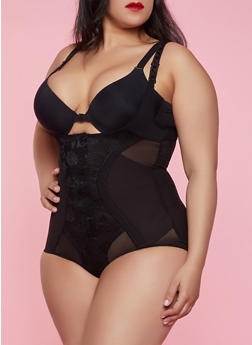 Plus Size Shapewear Bodysuit - 1151035162044