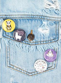 Animal Button Set - Multicolor - 1163033900482