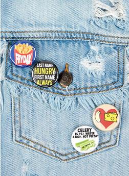 Food Button Set - Multicolor - 1163033904930