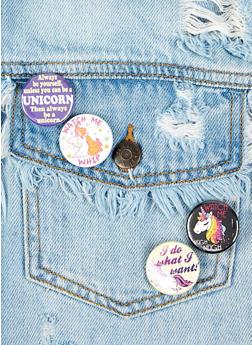Unicorn Button Set - Multicolor - 1163033904931